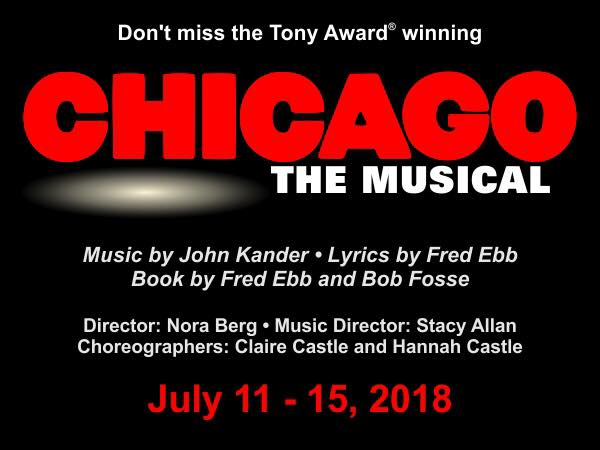 Auditions - Chicago: The Musical Logo