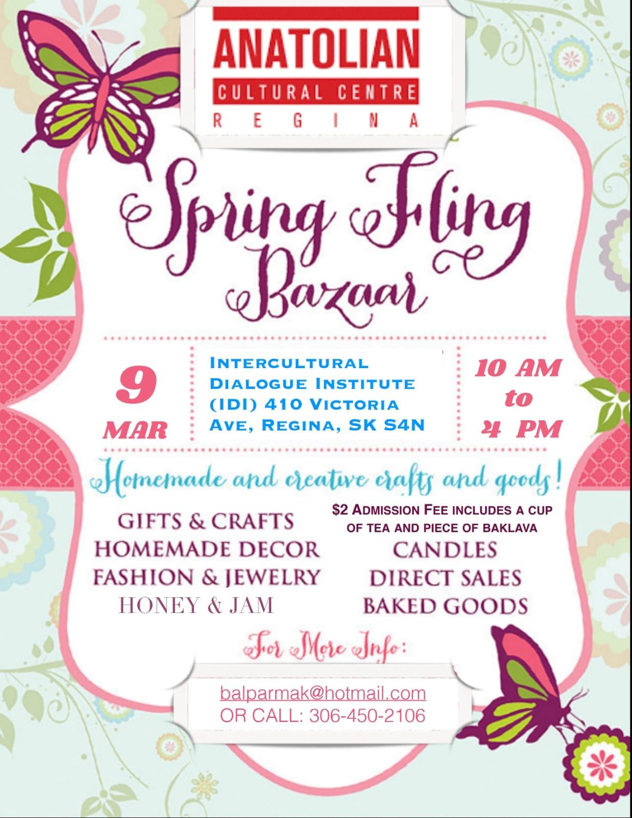 Spring Fling Bazaar Logo