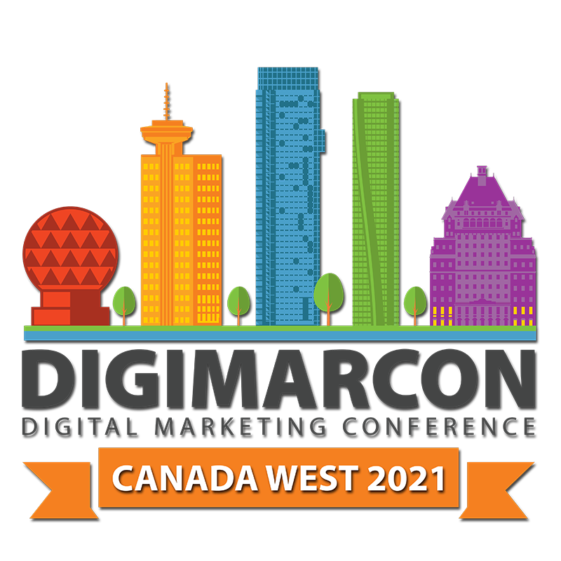 DigiMarCon Canada West 2021 - Digital Marketing, Media and Advertising Conference & Exhibition Logo