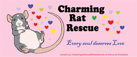 Charming Rat Rescue Logo